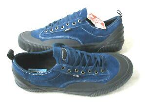 Vans Mens Destruct Sf Suede Skate shoes Gibraltar Sea Blue Black Size 11 NWT