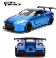 Brian's Nissan GT-R (R35) - Sopra Blue 'Fast & Furious' 1/24 Model Car