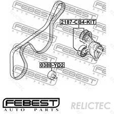 Tensioner Pulley V-Ribbed Aux Belt Ford:FOCUS II 2,C-MAX,FOCUS C-MAX 1367254