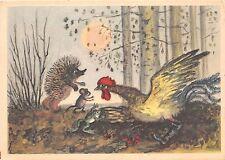 B75329 bird oisseaux frog mice Russia fairy tales popular story contes de fees