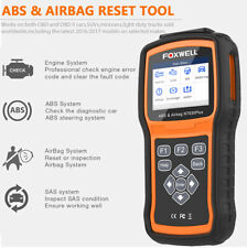Foxwell NT630 Plus OBD2 Diagnostic Tool ABS Airbag SRS Car Code Reader Scanner