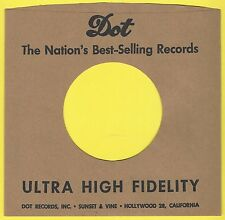 DOT REPRODUCTION RECORD COMPANY SLEEVES - (pack of 10)