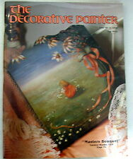 Decorative Painter Issue 3, 1990 Tole painting magazine patterns instructions