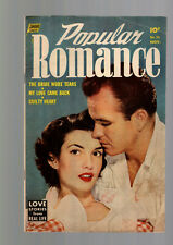 POPULAR ROMANCE #26 GOLDEN AGE PRE CODE RACY ALEX TOTH GOOD GIRL ART 1953