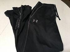 Under Armour Men's Workout Pants, Black, Size M
