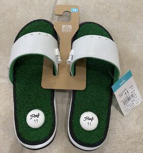 Reef Mulligan Golf Sandal Slides Mens Size 11 CI3748 Sold Out Green White