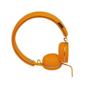 Urbanears Humlan On-Ear Headphones Headset w/Remote Mic for Smartphones Pumpkin