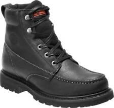 Harley-Davidson Men's Markston Black Brown or Grey Motorcycle BOOTS D93529