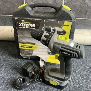 Challenge Xtreme 18V Cordless Drill Driver With Battery & Charger