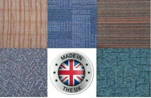 Branded Luxury Thick 45x45cm Carpet tiles ,Made in UK ,Commercial Retail Office