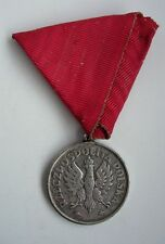 ORGINAL POLISH POLAND BEFORE WWII 3r May medal SOLID SILVER MARKED numbered