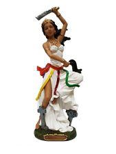 "12.5"" Orisha OYA Statue Santeria Lucumi Yoruba Figure Goddess of Wind & Storm"
