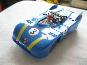 Carrera Universal  Porsche 908 blau altes Fahrwerk