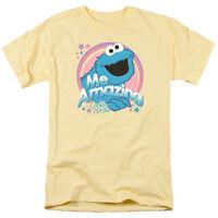SESAME STREET ME AMAZING COOKIE MONSTER Licensed Men's Graphic Tee Shirt SM-3XL