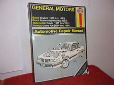 HAYES AUTOMOTIVE REPAIR MANUAL..GENERAL MOTORS .N-CARS ..SEE PHOTO'S