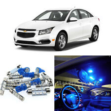 For 2011-2015 Chevrolet Cruze Premium Blue LED Interior Lights Kit 8 Pieces