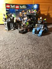 Lego, Monster Fighters, # 9466, The Crazy Scientist & His Monster