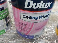 DULUX 4 LITRE  INTERIOR NEVER-MISS CEILING-FLAT WHITE COLOR PAINT
