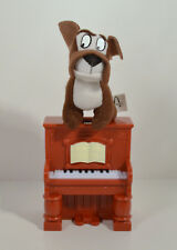 "RARE 2001 Francois Piano 3"" Plush Figure McDonalds EUROPE Disney Lady & Tramp 2"