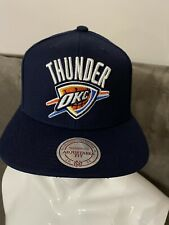 Mitchell & Ness NBA Oklahoma City Thunder Basketball Cap