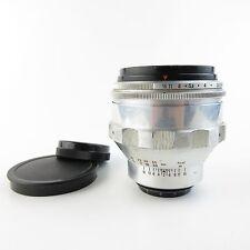 Für M42 Carl Zeiss Jena Aluminium BIOTAR 1.5/75 Objektiv / lens