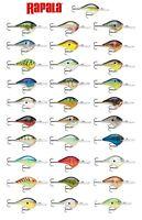 Rapala DT16 Extra Deep Diving Crankbait Balsa Wood Bass Fishing Lure Plug