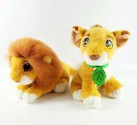 Vintage 1993 Baby Simba Purring Plush Set Mattel The Lion King Disney Reversible