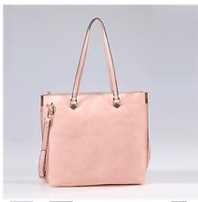 Fashion Handbag Classy Shopper Pink Rose Color Stylish Tote XL