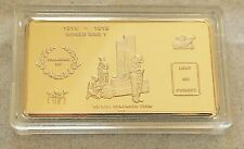 -#Remembrance Day Ingot~Auction 11th Hour 11th Day 11th Month CofA Incl