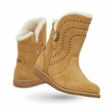 EMU AUSTRALIA BELAH LO BOOTS CHESTNUT SIZE 7 NEW IN BOX