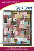 Big and Bold Quilt Pattern by Cozy Quilt Designs