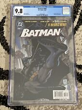BATMAN #608 CGC 9.8 Part 1 Of HUSH!!! 12/2002 JEPH LOEB & JIM LEE