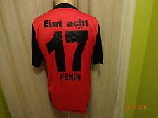 "Eintracht Frankfurt Jako Matchworn Trikot 2009/10 ""FRAPORT"" + Nr.17 Fenin Gr.M"