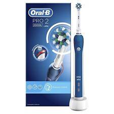 Braun Oral-B Pro 2 2000N Cepillo de dientes energía eléctrica recargable de acción cruzada
