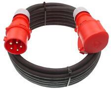 (3,47€/m) 15m CEE Verlängerungskabel 400V 32A Kabel Starkstromkabel 5G4 5x4 mm²