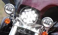 7 inch Halo DRL LED Headlight for Harley Davidson Softail Cross Bones FLSTSB