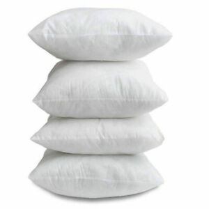 """Leo Extra filled Hollow Fibre Cushion Pads Inner Fillers Inserts Sofa 18""""x 18"""""""