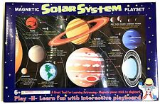 Magnetic Solar System Play Set Educational Tool for Learning Astronomy