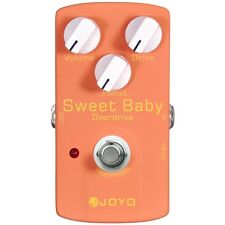 Joyo JF-36 Sweet Baby Low Gain Overdrive Guitar Effect Pedal w/ Focus Control
