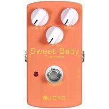 Joyo JF-36 Sweet Baby Low Gain Overdrive Guitar Effect Pedal w/ Focus Control
