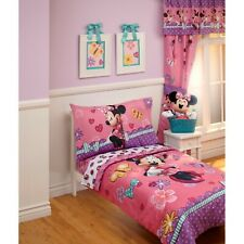 Disney Cute as Minnie Mouse 4 Piece Toddler Bedding Set