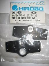 Original HIROBO Rotorkopf Seitenplatte 0404-605 Yoke Side Plate SSR-IV 4