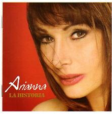 ARIANNA La Historia CD con grandes exitos EN MI SOLEDAD + BORRARE TU NOMBRE mas+