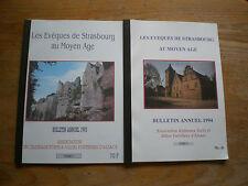 Les Evèques de Strasbourg au Moyen Age Tome 1 et Tome 2
