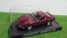 CHEVROLET CORVETTE ZR1 40ème anniversaire au 1/43 de DETAILS CAR ART 215 voiture