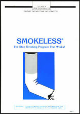 SMOKELESS Stop Smoking Program audio-casettes booklet