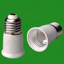 40x Edison Screw ES E27 To E27 Light Bulb Extender Adaptor Lamp Converter Holder