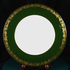 Wedgwood Whitehall Arras Green 10 3/4 Inch Dinner Plates W4194 NEW 1st Quality