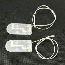 10 Pcs On/off Switch 2 X 3v Cr2032 Cell Button Battery Holder for LED PK