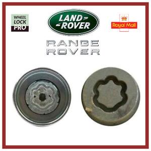 Land / Range Rover Discovery Evoque Freelander Velar Locking Wheel Nut 'Key K'